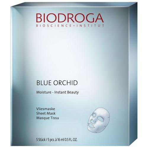 Biodroga Blue Orchid Moisture Vliesmaske 5 Stk.