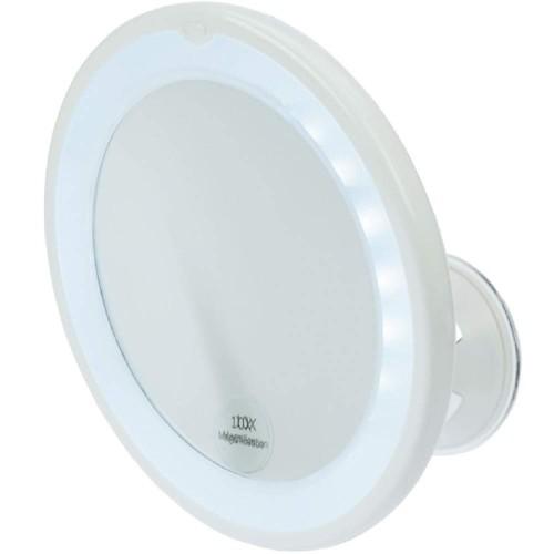 canal spiegel 10 fach vergr erung led beleuchtung g nstig kaufen hagel online shop. Black Bedroom Furniture Sets. Home Design Ideas