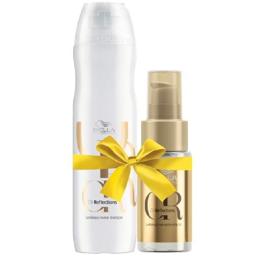 Wella Oil Reflections Shampoo & Smoothening Oil
