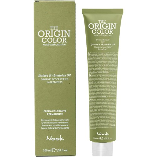 Nook The Origin Color 6.71 dunkelblond braun irisé 100 ml