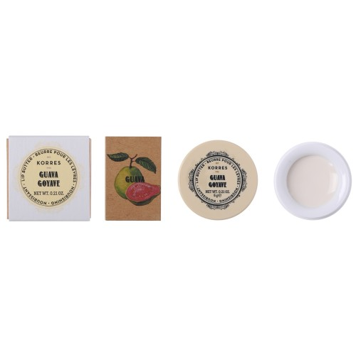 Korres VINTAGE LOOK Lip Butter Pot Guava 6 g