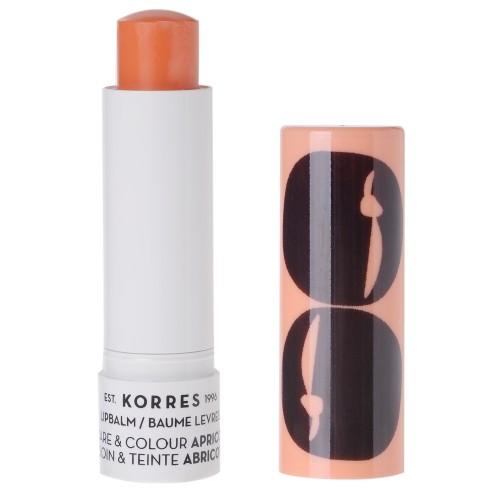 Korres STICK KOLLEKTION Care & Colour / Apricot Lip Balm 5 ml