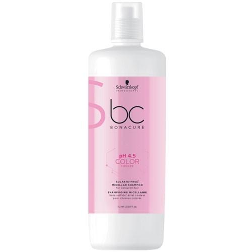 Schwarzkopf BC Bonacure pH 4.5 Color Freeze Sulfate-Free Shampoo 1000 ml