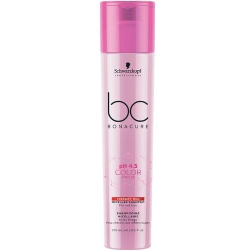 Schwarzkopf BC Bonacure pH 4.5 Color Freeze Vibrant Red Shampoo 250 ml