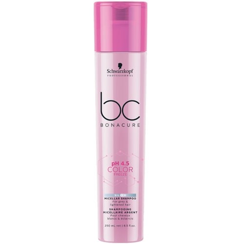 Schwarzkopf BC Bonacure pH 4.5 Color Freeze Silver Shampoo 250 ml