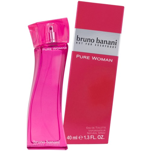 bruno banani Pure Woman EdT Natural Spray 40 ml