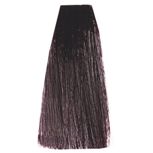 3DeLuxe Professional Hair Color Cream 5.12 Hellbraun asch irisé 100 ml