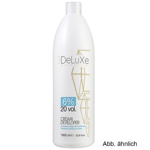 3DeLuxe Creme Developer 6% 1000 ml