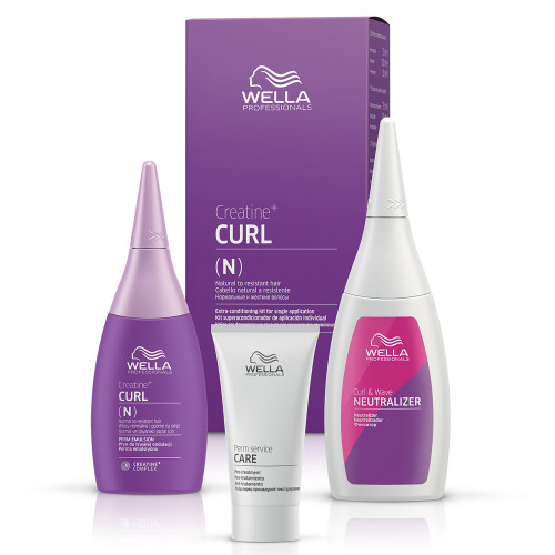 Wella Creatine Curl N/R Hair Kit