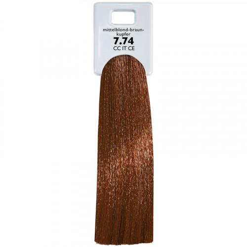 Alcina Color Creme Intensiv Tönung 7.74 mittelblond braun-kupfer 60 ml