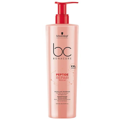 Schwarzkopf BC Bonacure Peptide Repair Rescue Shampoo 500 ml