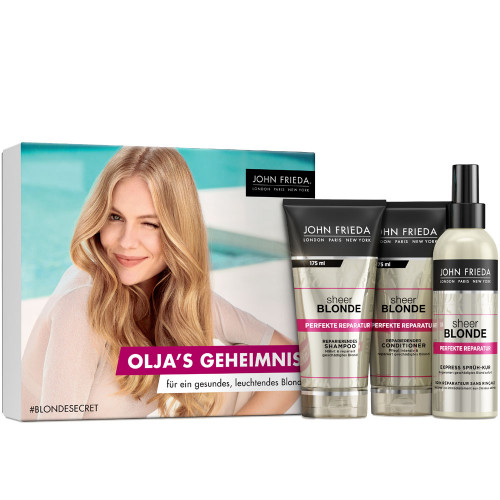 John Frieda Sheer Blonde Perfekte Reparatur Secret Blogger Box