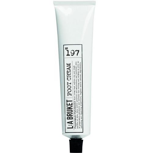 L:A BRUKET No. 197 Foot Cream Peppermint/Patchouli 70 ml