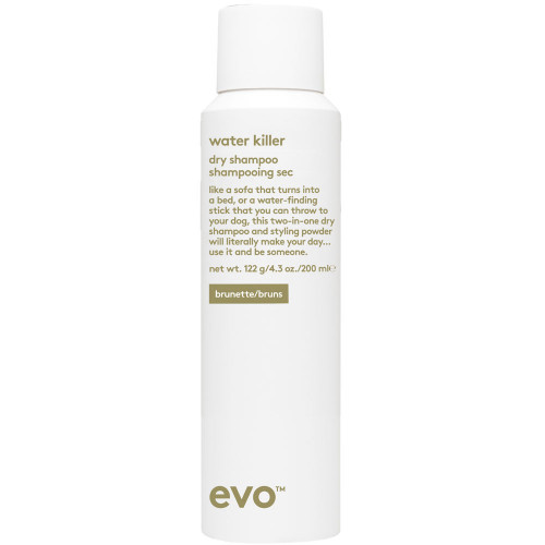 evo Water Killer Dry Shampoo brunette 200 ml