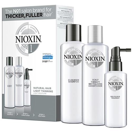 NIOXIN System 1 3-Stufen-System