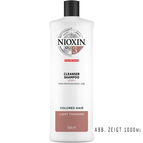 NIOXIN System 3 Cleanser Shampoo Step 1 300 ml