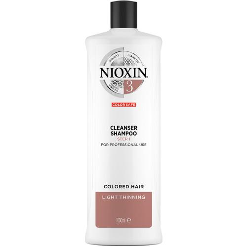 NIOXIN System 3 Cleanser Shampoo Step 1 1000 ml