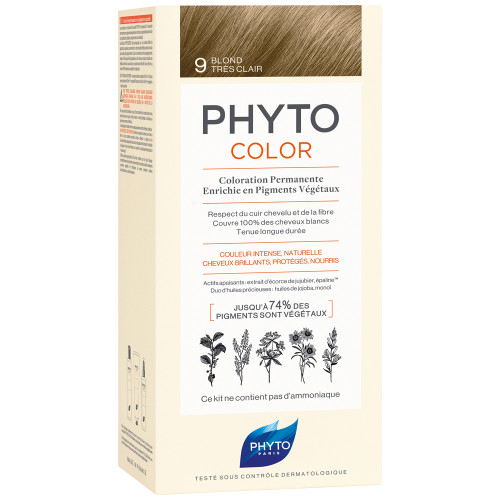 Phyto Phytocolor 9 Sehr Helles Blond Kit