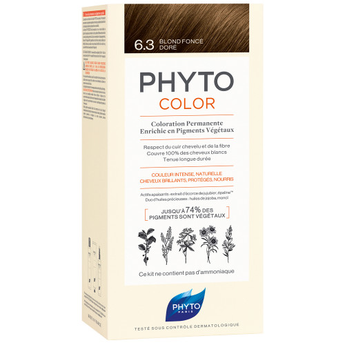 Phyto Phytocolor 6.3 Dunkles Goldbraun Kit