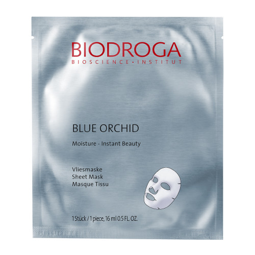 Biodroga Blue Orchid Moisture Vliesmaske 1 Stk.