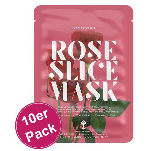 Kocostar Slice Mask Rose Flower 10er Pack