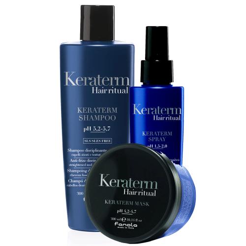 Fanola Keraterm Hair Ritual 3er Set