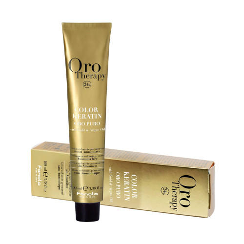 Fanola Oro Puro Keratin Color 6.34 100 ml