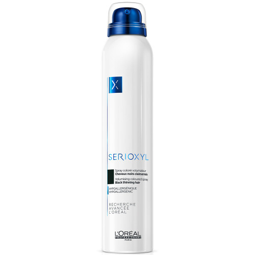 L'Oréal Professionnel Serioxyl Farbspray schwarz 200 ml