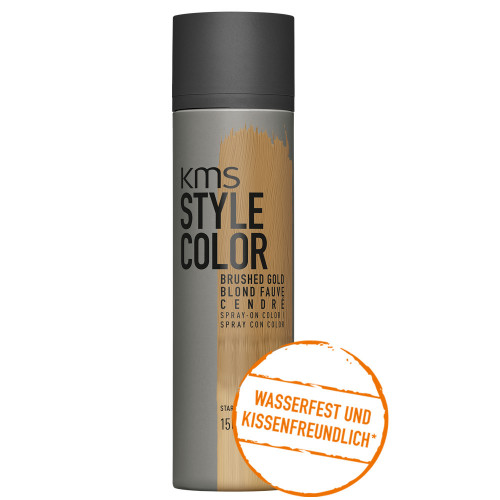 KMS Style Color Brushed Gold Farbspray 150 ml