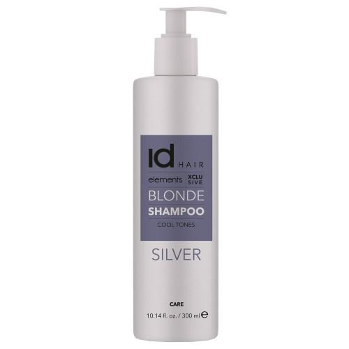 Id Hair Elements Blonde XCLS Silver Shampoo 300 ml