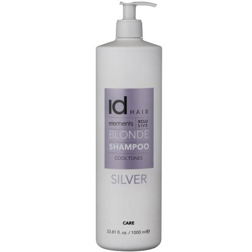 Id Hair Elements Blonde XCLS Silver Shampoo 1000 ml