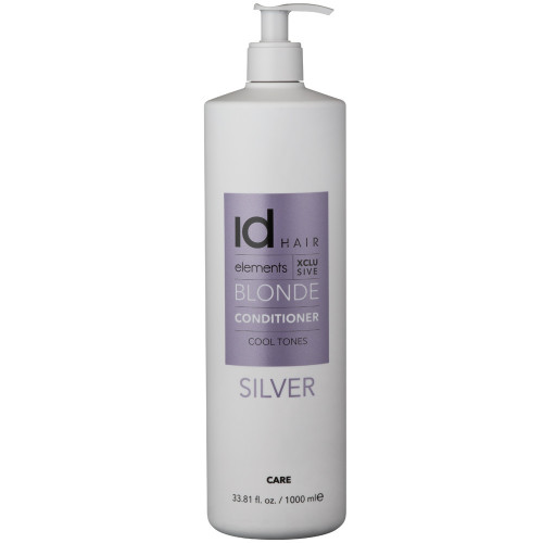 Id Hair Elements Xclusive Blonde Silver Conditioner 1000 ml