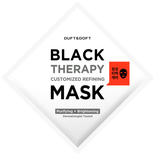 Duft & Doft Black Therapy Mask 1 Stück