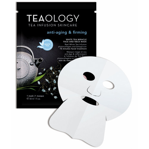 Teaology White Tea Miracle Face & Neck Mask 6x 30 ml