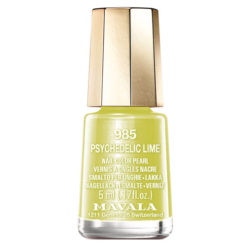 Mavala Nagellack Dash & Splash Color's 985 Psychedelic Lime 5 ml