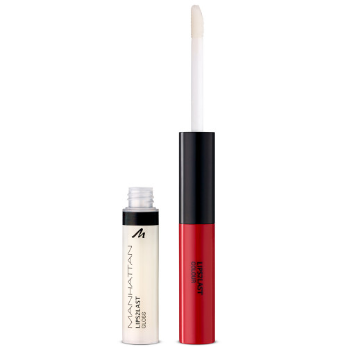 Manhattan Lips2Last Color & Gloss 45A Glam Red 7,5 ml