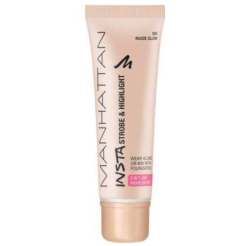 Manhattan Insta Strobe & Highlight Nude Glow 25 ml