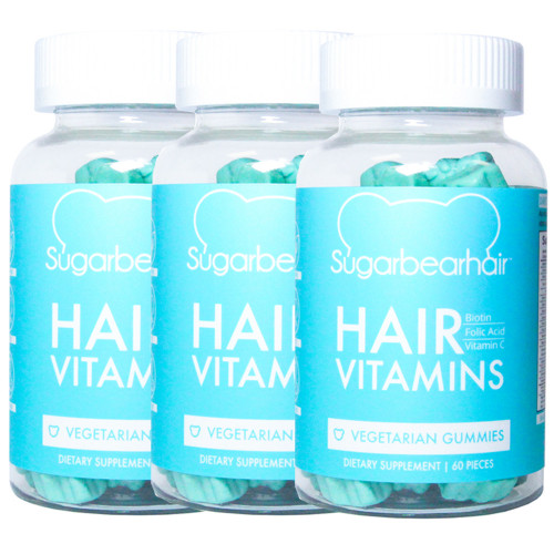 Sugarbearhair Vitamin-Bären 3er Pack
