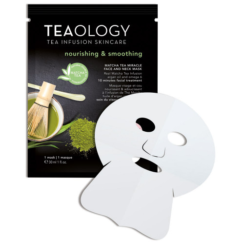 Teaology Matcha Tea Miracle Face and Neck Mask 30 ml
