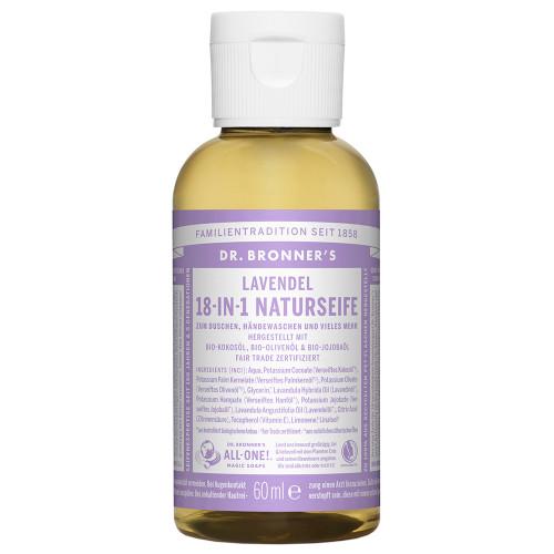 Dr. Bronner's 18-in-1 Naturseife Lavendel 60 ml