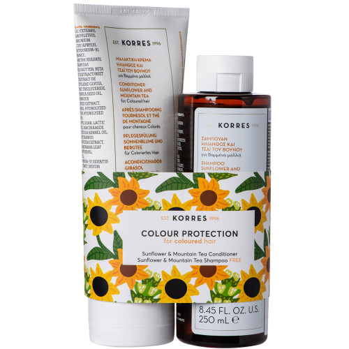Korres Sunflower & Mountain Tea Collection