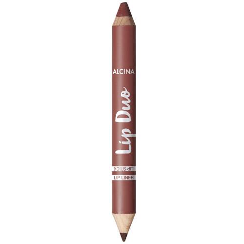 Alcina Lip Duo Cinnamon Brown