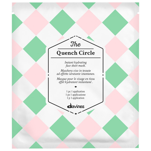 Davines The Circle Chronicles The Quench Circle Gesichtsmaske