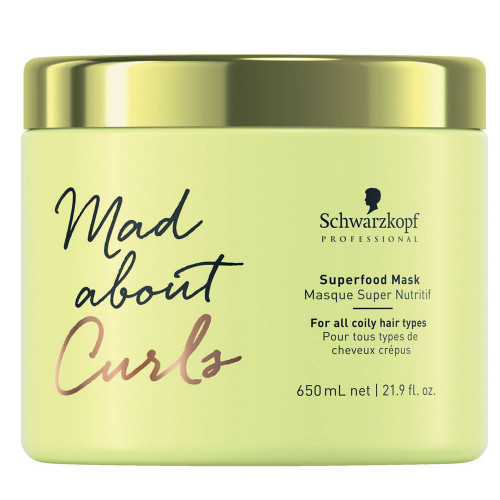 Schwarzkopf Mad About Curls Superfood Mask 650 ml