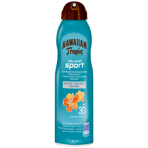 Hawaiian Tropic Island Sport C-Spray (SPF30) 220 ml