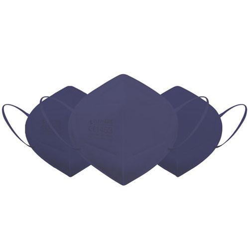 Eliware FFP2 Einweg Atemschutzmaske - blau 5 Stück