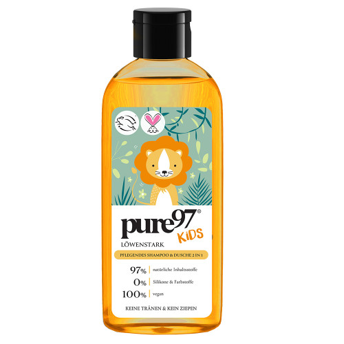pure97 Kids Löwenstark Shampoo & Duschgel 250 ml