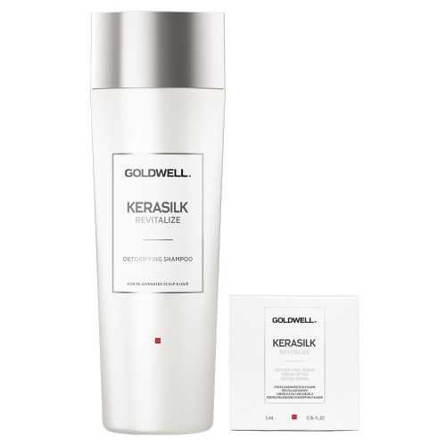 Goldwell Kerasilk Revitalize Detox Shampoo 250 ml + Serum 5 ml