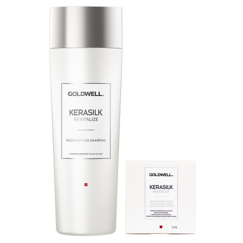 Goldwell Kerasilk Revitalize Verdichtendes Shampoo 250 ml + Serum 5 ml