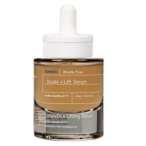 Korres Black Pine 4D BioShapeLift™ Remodellierendes und straffendes Gesichtsserum 30 ml